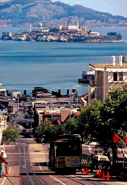 Lombard and Hyde Streets   San Francisco, California