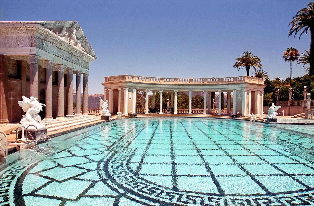 Outdoor pool   Hearst Castle   San Simeon, California