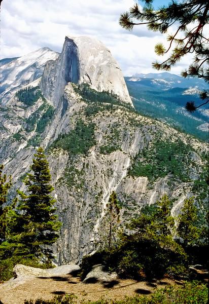 Half Dome  Yosemite National Park   Yosemite, California