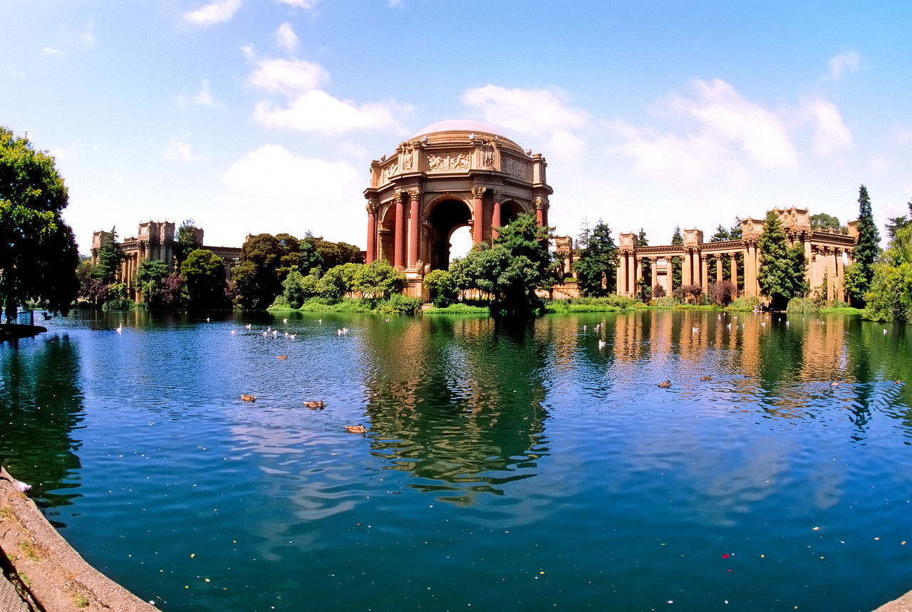 Palace of Fine Arts   San Francisco, California