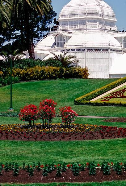 Conservatory of Flowers - Golden Gate Park - San Francisco, California