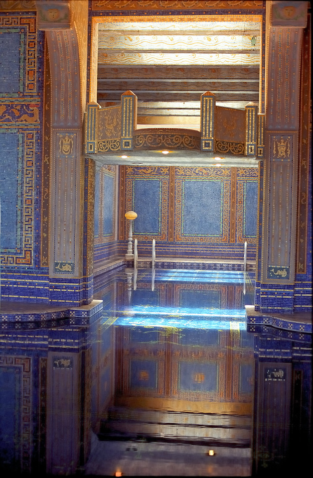 Indoor Pool   Hearst Castle   San Simeon, California