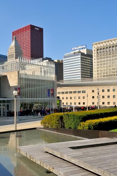 South Michigan Avenue and the Art Institute - Chicago, Illinois