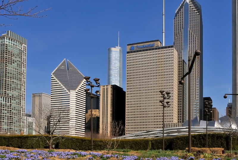 Prudential Plaza, Trump Tower and Smurfit Stone - Chicago, Illinois