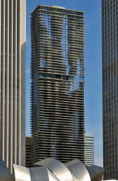 Aon Building and Aqua - Chicago, Illinois