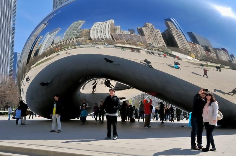 The Bean Millennium Park - Chicago, Illinois