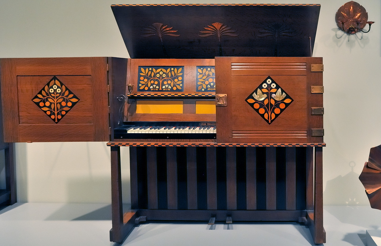 Piano by John Broadwood - Art Institute - Chicago, Illinois