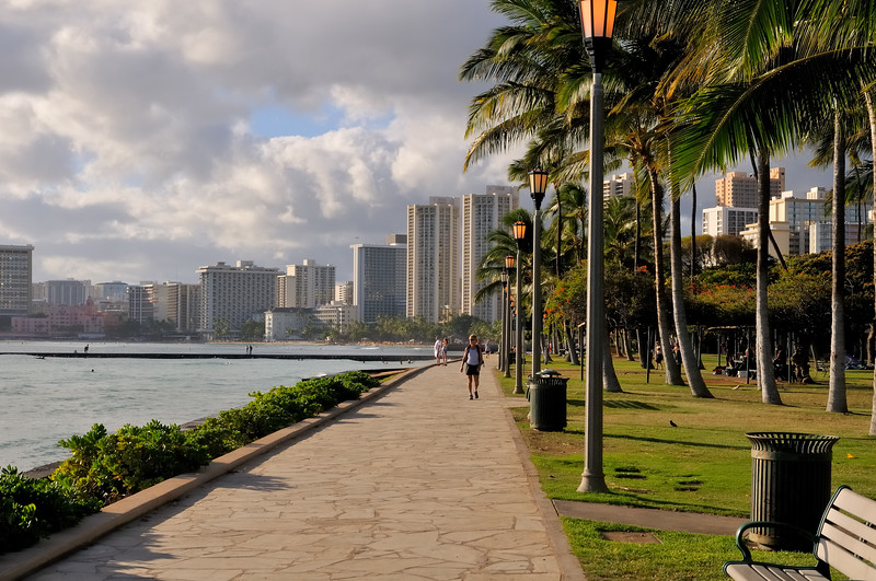 Kapiolani Beach Park   Oahu, Hawaii