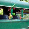 Plantation tour bus   Oahu, Hawaii