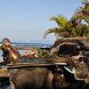 Duke Kamehameha Surfing Statue  Waikiki  Oahu, Hawaii