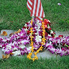 Remembering the fallen at Punchbowl  Memorial Day  Oahu, Hawaii