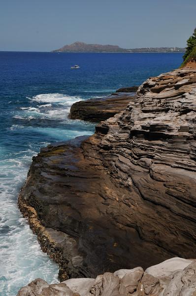Spitting Cave  Oahu, Hawaii
