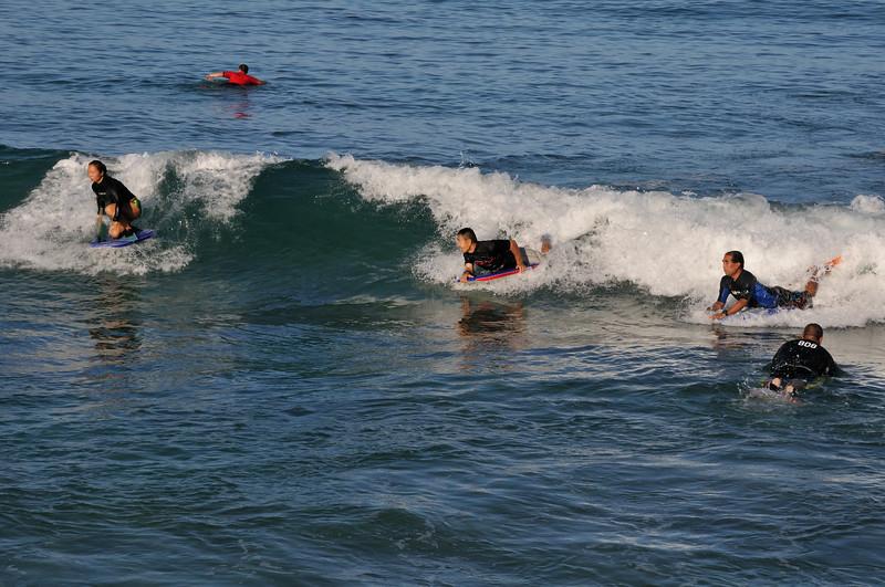Bodyboarding   Waikiki beach   Honolulu, Oahu, Hawaii