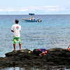 Gone fishin'   Makaiwa Bay   The Big Island, Hawaii