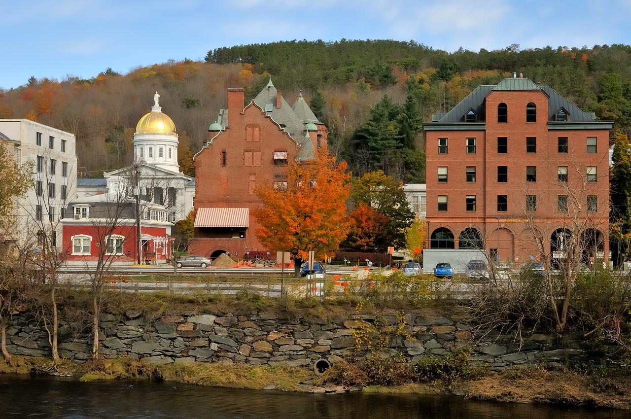 Downtown Montpelier, Vermont