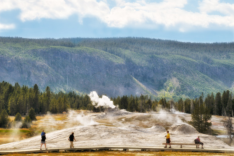 Geysers  Yellowstone National Park, Wyoming