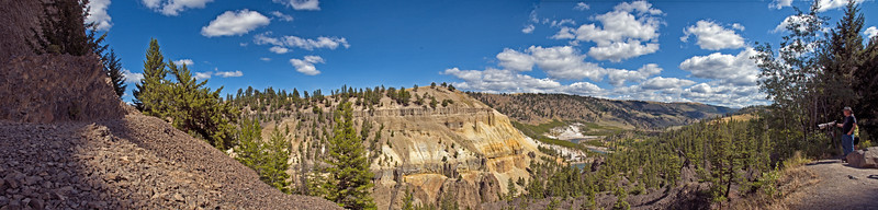 Grand Canyon of the Yellowstone  Yellowstone National Park, Wyoming