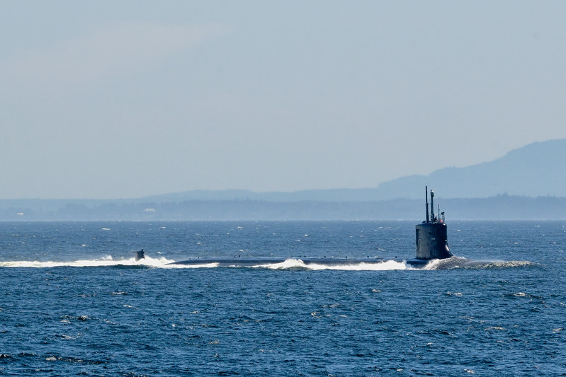 Deployment at a very busy strait