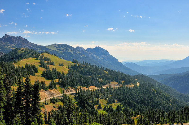 View from Hurricane Ridge - Olympic National Park