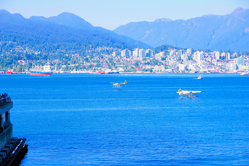 Seaplanes on a clearer day