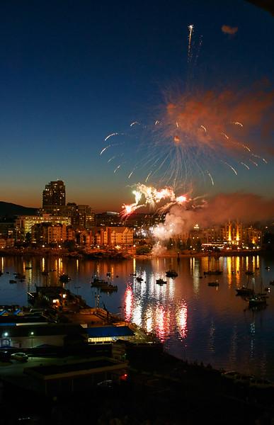 Fireworks over the harbor #5