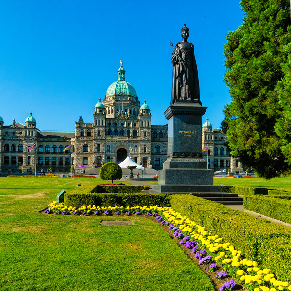 British Columbia's Parliament Building, completed in 1898