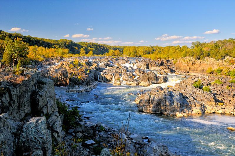 Late fall at Great Falls