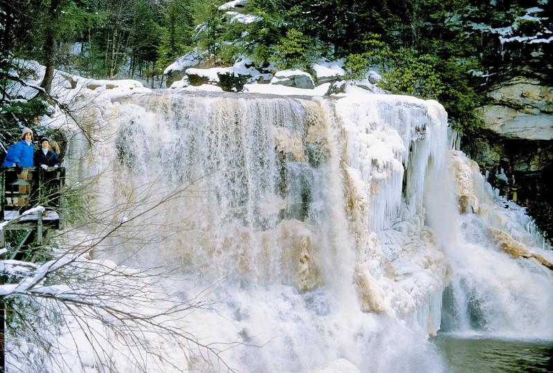 1986 - Frozen waterfall - WV