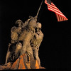 Iwo Jima Memorial and the Capitol Monuments