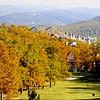 Fall 2000 - From the 16th tee - Wintergreen, VA
