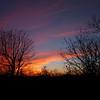 Late fall sunset - Wintergreen, Virginia
