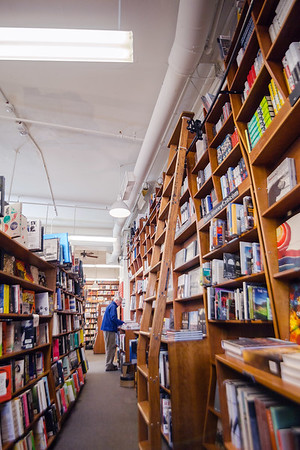 Interior of Harvard Book Store