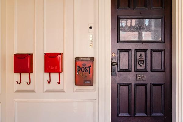 Mailboxes in Somerville, Massachusetts