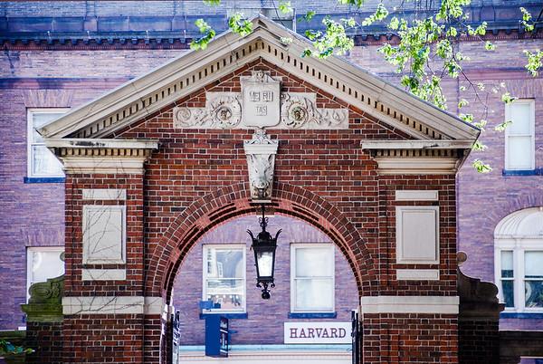 Entrance to Harvard University