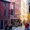 Blackstone Block area in Boston's North End