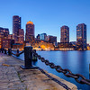 Boston's Skyline at night