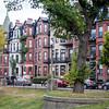 Houses in Back Bay, Boston