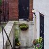 House entrance in Beacon Hill, Boston
