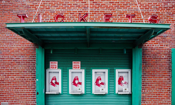 Fenway Park ticket gate
