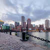 Boston's Skyline from Fan Pier Park in Fort Point