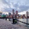 Boston's Skyline from Fan Pier Park in Fort Point