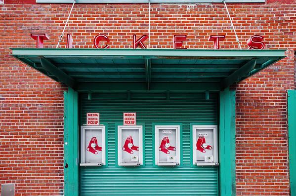 Fenway Park ticket gate