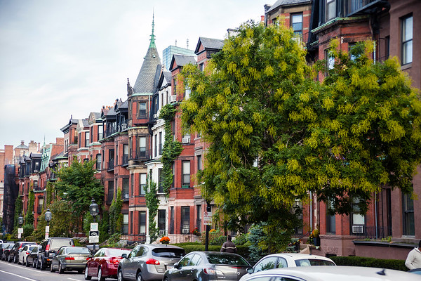 Houses in Back Bay, Boston