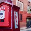 Fire alarm in Boston