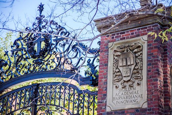Gates and Harvard University Motto