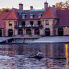 Rowers at the Weld Boathouse, Harvard University