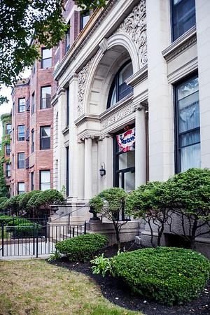 Building in Back Bay, Boston