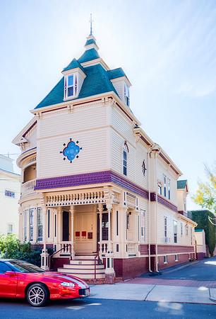 Old house in Somerville, Massachusetts