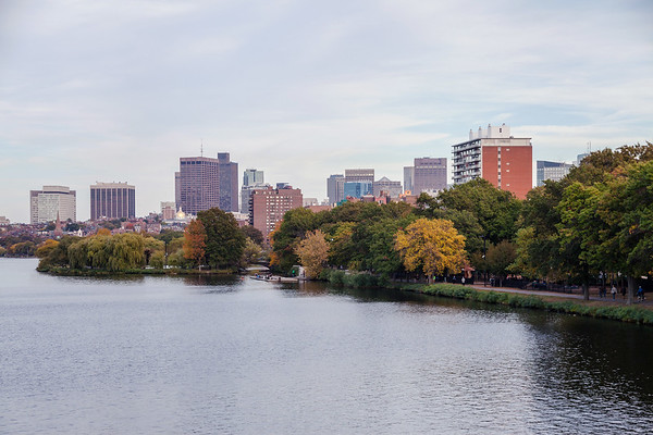 Buildings and waterfront in Boston