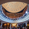 Interior of Faneuil Hall, Boston